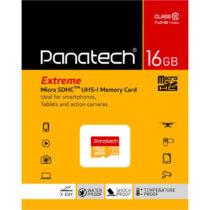 کارت حافظه میکرو اس دی Panatech سری Extreme ظرفیت 16 گیگابایت
