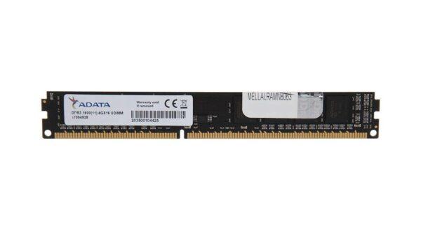 رم دسکتاپ DDR3L تک کاناله 1600 مگاهرتز CL11 ای دیتا