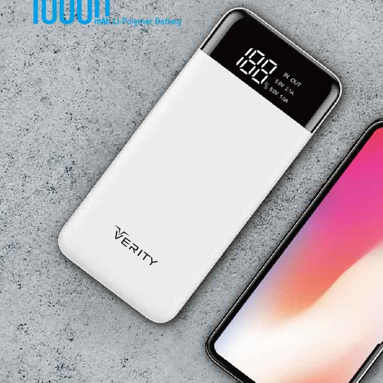 پاوربانک (شارژر همراه) ۱۰۰۰۰ وریتی VERITY PU109
