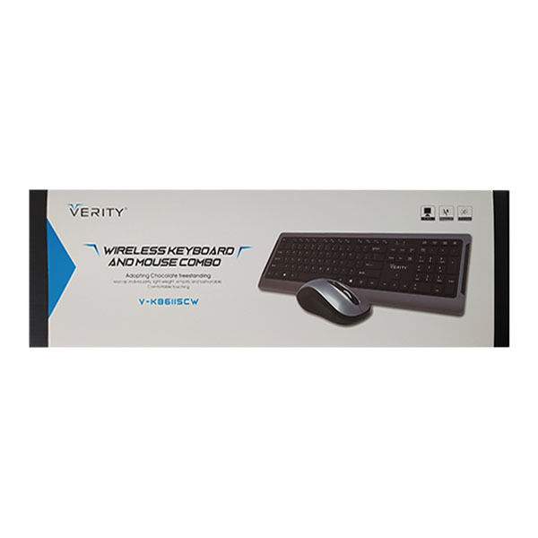 V KB6115CW Verity Keyboard and Mouse 8