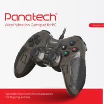 دسته بازی دوبل شوک دار مدل P-G502P پاناتک