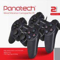 دسته بازی دوبل شوک دار مدل P-G505P پاناتک