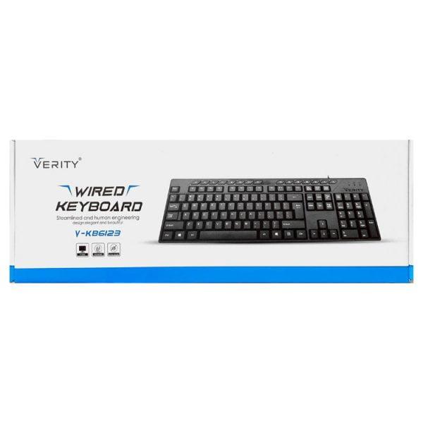 VERITY keyboard 6123 02